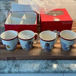 Williams-Sonoma Nordic Elf Mugs
